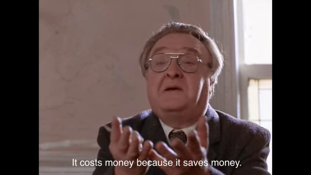 Vincent Gardenia in Moonstruck